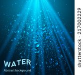 Underwater Background Vector...