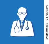 medical doctor icon | Shutterstock .eps vector #217006891