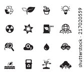 nature  icons vector files. | Shutterstock .eps vector #217020559