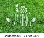 Hello Spring Spring Grass