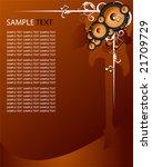 vector speaker background | Shutterstock .eps vector #21709729