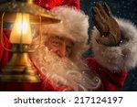 Photo Of Santa Claus Outdoors...