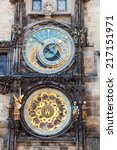 Astronomical Clock At The...