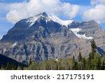 mount robson  mount robson... | Shutterstock . vector #217175191