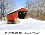 Pool Forge Covered Bridge With...