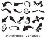 arrows | Shutterstock .eps vector #21718087