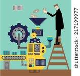 factory   Shutterstock .eps vector #217199977