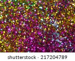 Small Multicolored Sequins As...