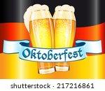 oktoberfest celebration design   Shutterstock . vector #217216861