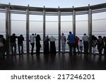 dubai  uae   may 31  at the top ... | Shutterstock . vector #217246201