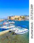 boats in a port in kyrenia ...   Shutterstock . vector #217251289