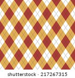 seamless argyle pattern.... | Shutterstock .eps vector #217267315