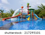 Water Park For Kid At The Day...