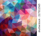 abstract background consisting... | Shutterstock .eps vector #217311565