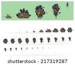animation explosion. | Shutterstock .eps vector #217319287
