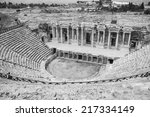 Theater Ruins In The Ancient...