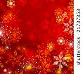 jpeg winter background with... | Shutterstock . vector #21737353