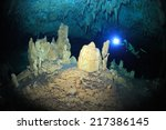 Cave Diving In The Cenote...
