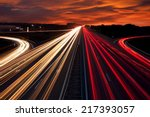 Speed Traffic   Light Trails O...
