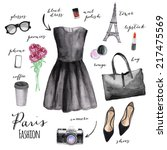 Fashion Illustration. Paris...