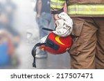 firefighter | Shutterstock . vector #217507471