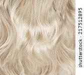 Wavy Hair Fragment As A Textur...