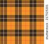 Tartan Orange Pattern. Seamles...