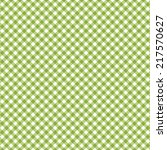 Checkered Pattern Green  ...