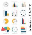set of infographics elements | Shutterstock .eps vector #217621219