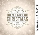 Christmas Retro Typography And...