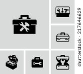 toolbox icon | Shutterstock .eps vector #217646629