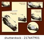corporate identity presentation ... | Shutterstock .eps vector #217647901