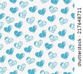 seamless background pattern... | Shutterstock .eps vector #217648711