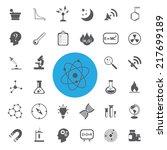 science vector set.vector... | Shutterstock .eps vector #217699189