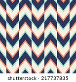 seamless chevron pattern | Shutterstock vector #217737835