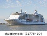 klaipeda lithuania  september... | Shutterstock . vector #217754104