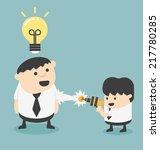 add an intellectual | Shutterstock .eps vector #217780285