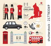 london united kingdom flat... | Shutterstock .eps vector #217783369
