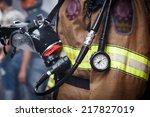 firefighter | Shutterstock . vector #217827019