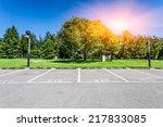 empty parking lot | Shutterstock . vector #217833085