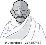 Ghandi Vector