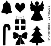 christmas elements | Shutterstock .eps vector #21786211