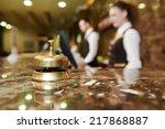 Modern Luxury Hotel Reception...