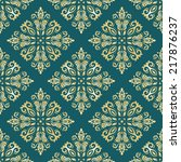 oriental  pattern with damask ... | Shutterstock . vector #217876237