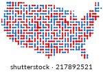 usa dot map | Shutterstock .eps vector #217892521