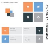 flat design icons set...