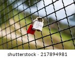 Two Steel Padlock As Love Symbol