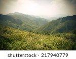 mountain scenery  | Shutterstock . vector #217940779