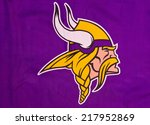 Постер, плакат: NFL Minnesota Vikings club
