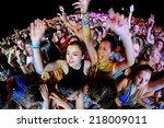 benicassim  spain   july 20 ... | Shutterstock . vector #218009011